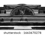 Detail Of Face On Roofline Of...