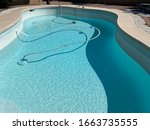 Swimming Pool Being Drained For ...
