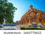Beautiful Golden Pagoda During...