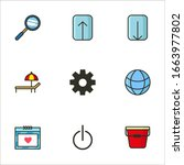 miscellaneous set icon for your ... | Shutterstock .eps vector #1663977802