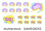 sale banner template design... | Shutterstock .eps vector #1664018242