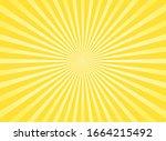 sunlight rays horizontal... | Shutterstock .eps vector #1664215492