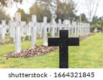 Planty Tombstone Cross Grave...