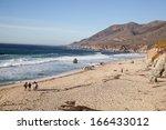big sur california coast   Shutterstock . vector #166433012