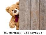 Brown Cute Teddy Bear Sneaked...
