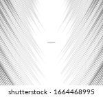 abstract grey white waves and... | Shutterstock .eps vector #1664468995