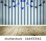 light blue background with... | Shutterstock . vector #166453562