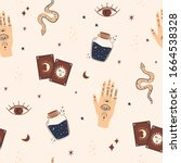 magic and celestial inspired...   Shutterstock .eps vector #1664538328