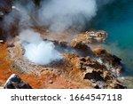 """Geyser Eruption In The """"valley..."""