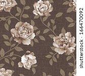 fresh spring flowers seamless... | Shutterstock . vector #166470092