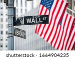 Wall Street In New York City ...