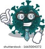 coronavirus covid 19... | Shutterstock .eps vector #1665004372