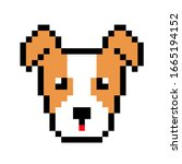 pixel jack russell puppy image. ...
