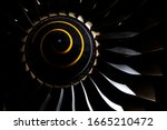 Aircraft Turbojet Engine In The ...