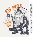 Big Bro Slogan With Rhino...