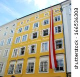 Birthplace Of Wolfgang Amadeus...