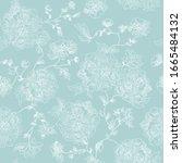 abstract flourish ornament... | Shutterstock .eps vector #1665484132