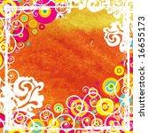 watercolor vector  abstract... | Shutterstock .eps vector #16655173