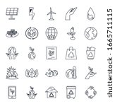 line style icon set design ... | Shutterstock .eps vector #1665711115
