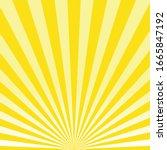 abstract light yellow sun...   Shutterstock .eps vector #1665847192