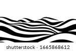 abstract wave of white and...   Shutterstock .eps vector #1665868612