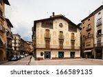 la seu d'urgell  catalonia  ... | Shutterstock . vector #166589135