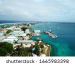 Majuro atoll and city in Marshall islands