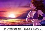 a vector illustration of an... | Shutterstock .eps vector #1666141912