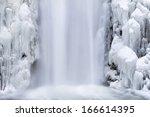 Multnomah Falls Frozen Icicles...