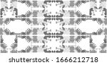 abstract embroidery seamless... | Shutterstock .eps vector #1666212718