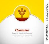 chuvashia happy national day... | Shutterstock .eps vector #1666223422