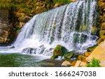 Spring Waterfall River Rocks...