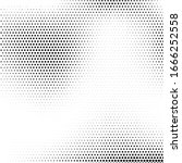 abstract halftone black and... | Shutterstock .eps vector #1666252558