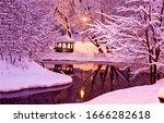 Night Lights In Winter Park...