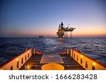Supply Vessel Going For Cargo...