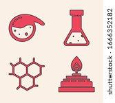 set alcohol or spirit burner ... | Shutterstock .eps vector #1666352182