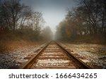 Railroad Tracks  Abstract Path...