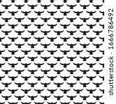 seamless pattern geometric... | Shutterstock .eps vector #1666786492