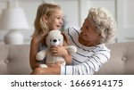 Smiling Mature Grandmother And...