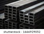 U Shaped Steel Rail Set Up A...
