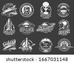 Vintage Space Exploration Logos ...