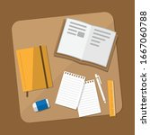 flat design modern vector... | Shutterstock .eps vector #1667060788