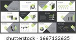 business presentation templates.... | Shutterstock .eps vector #1667132635