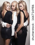 love triangle | Shutterstock . vector #166716986