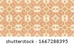 vintage patchwork tile. old...   Shutterstock . vector #1667288395