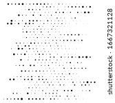 dots  half tone element.... | Shutterstock .eps vector #1667321128