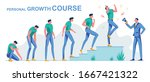 personal course growth  from... | Shutterstock .eps vector #1667421322