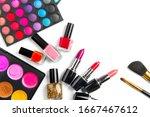 Makeup. Make Up Set Palette...