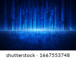 Abstract Technology Security On ...