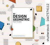 abstract cover design of... | Shutterstock .eps vector #1667574112